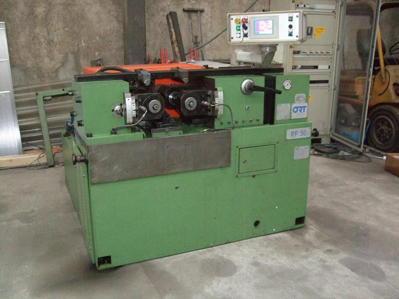 Stock no: 7488 - TWO DIE CYLINDRICAL THREAD ROLLING MACHINE