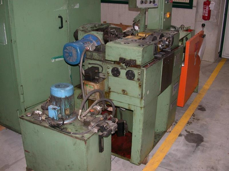 Stock no: 7242 - TWO DIE CYLINDRICAL THREAD ROLLING MACHINE