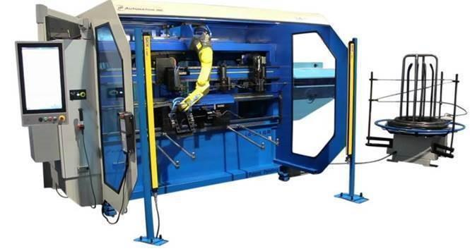 Stock no: New - CNC Multi-Head Bending Machine for 3D Wire forms