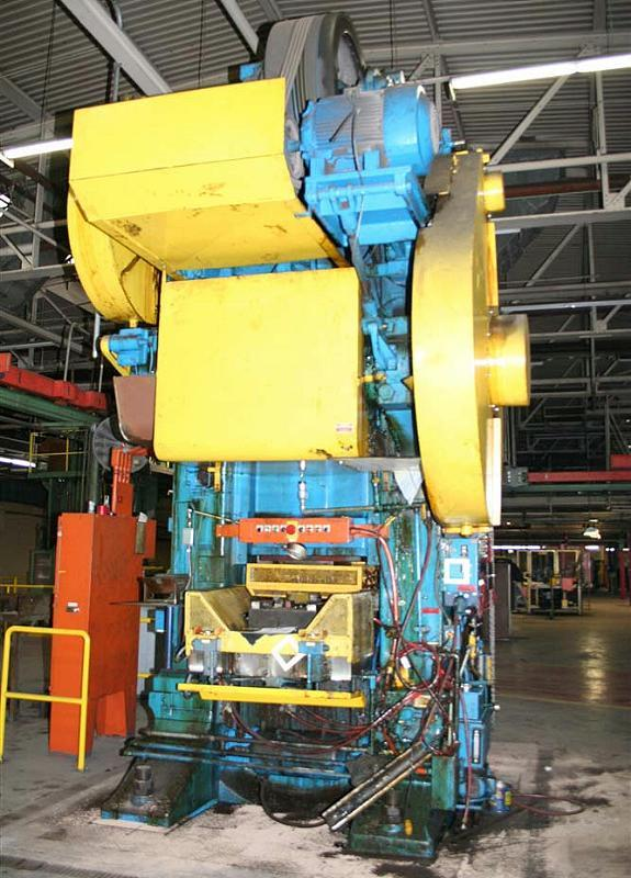 Stock no: 5936 - 1500T KNUCLE JOINT PRESS