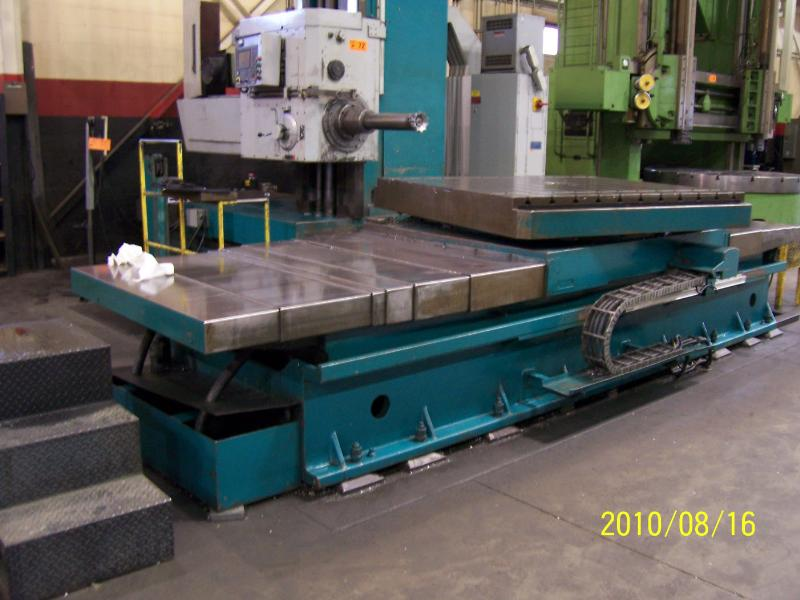 Stock no: 6107 - CNC HORIZONTAL BORING MILL
