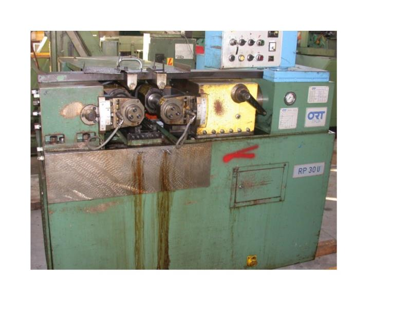 Stock no: 7393 - TWO DIE CYLINDRICAL THREAD ROLLING MACHINE