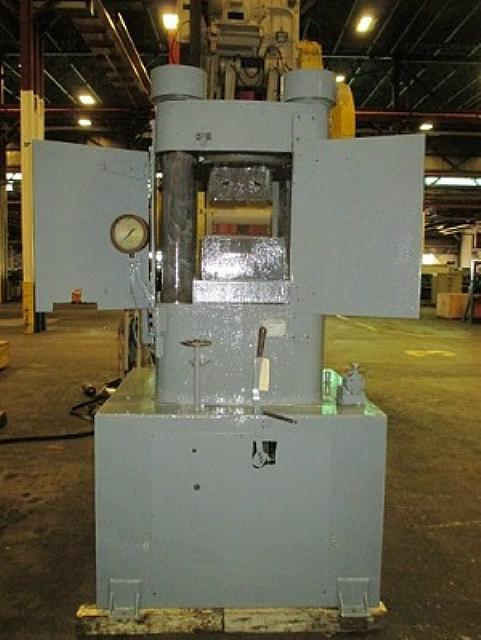 Stock no: 7195 - 4-POST HYDRAULIC HOBBING PRESS