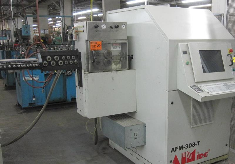 Stock no: 7477 - 3D CNC WIRE BENDER