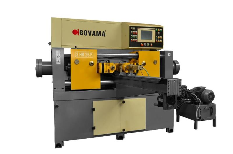 Stock no: NEW - 2Die Cylindrical Thread Rolling Machine with 2moveable heads, frequency control